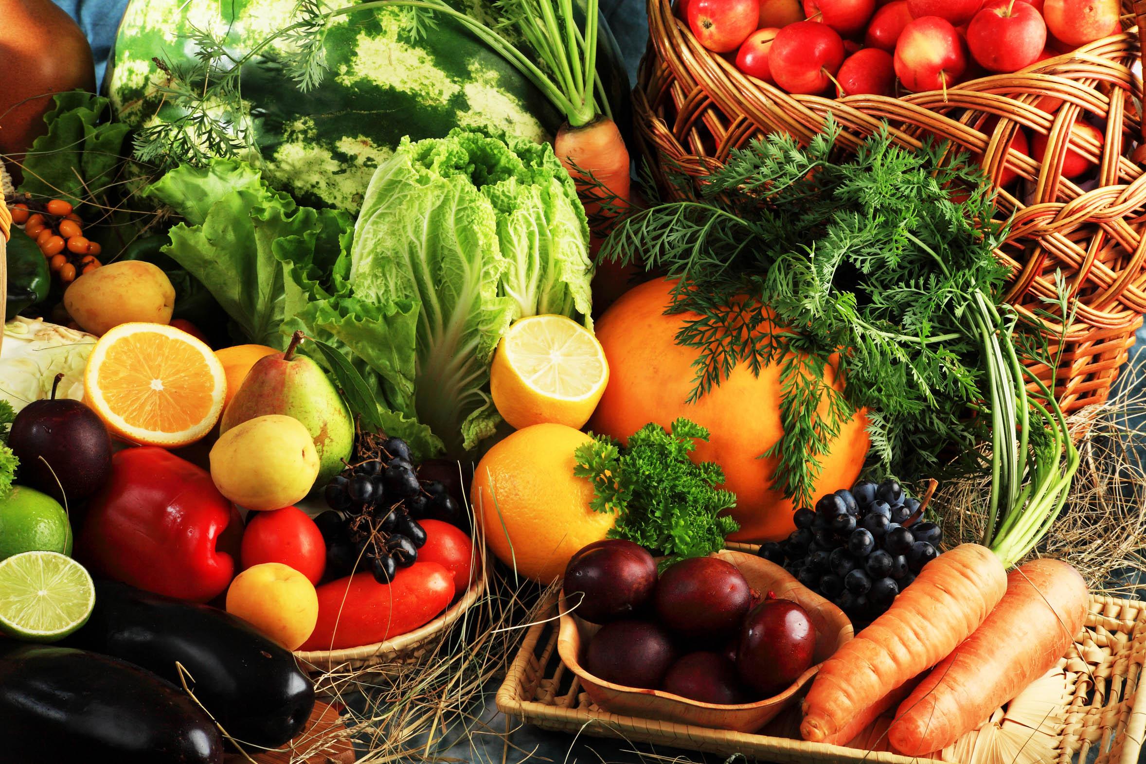 Las frutas y verduras nos ayudan tanto por dentro como por fuera. Foto puntofape