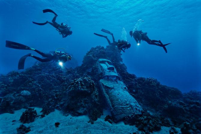 Resultado de imagen para el misterio de los moais