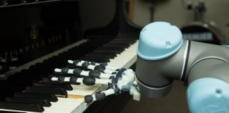 mano de robot